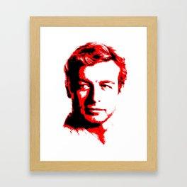 The Red Mentalist Framed Art Print