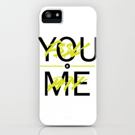 F$$K YOU. PAY ME. iPhone Case