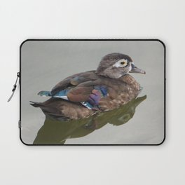 Wood Duck Laptop Sleeve