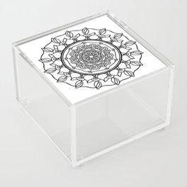 Self-mastery Mandala Acrylic Box