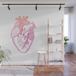 Designer Heart Wall Mural