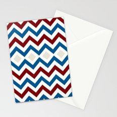 Nautical Chevron Stationery Cards