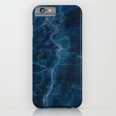 Calm Ocean Marble Print Slim Case iPhone 6s