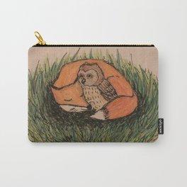 Fox & Owl Carry-All Pouch