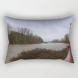 Willamette River Eugene Oregon Rectangular Pillow
