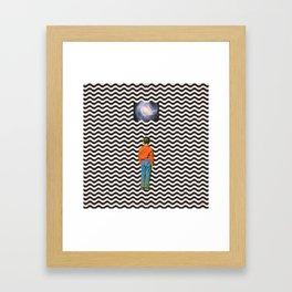 Illusion sleep   Framed Art Print