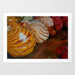 En la Panaderia  Art Print