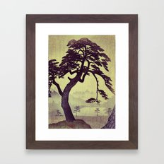 Old Man Standing Framed Art Print