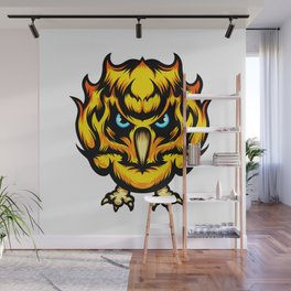 Fire Chick Wall Mural