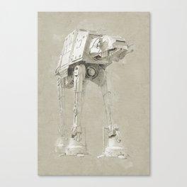 Imperial Walker Canvas Print