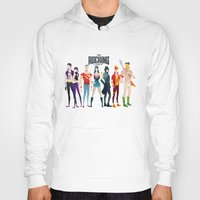 league Hoodies featuring the rocking league by Andres Moncayo