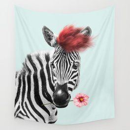 Zebra cool Wall Tapestry