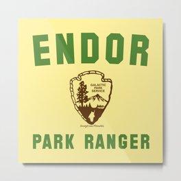 Endor Park Ranger Metal Print