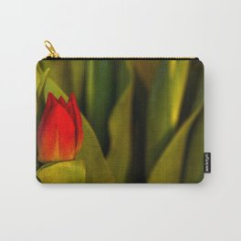 Concept Mother´s Day : Red tulips Carry-All Pouch