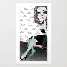 Confessions of a shopaholic  Art Print
