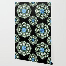 Folkloric Flower Crown Wallpaper