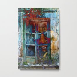Walking through walls Metal Print