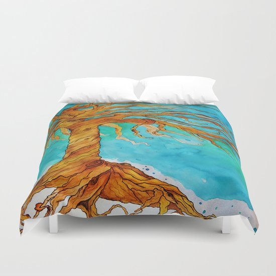 Tree of Life (Saturated Coloring) Duvet Cover