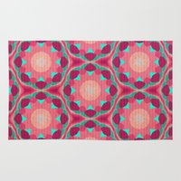 the thing Area & Throw Rugs featuring Sweet Thing by Truly Juel