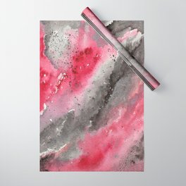 Scarlet Ashes Wrapping Paper