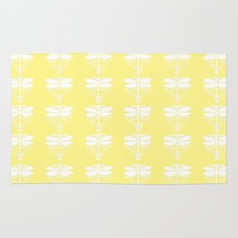 Canary Arts and Crafts Dragonflies Rug