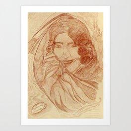 Casanova by J. Baron Art Print