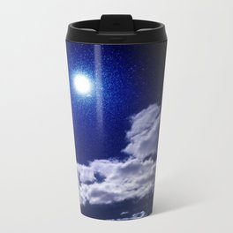Signs in the Sky Collection I- in its original deep blue Travel Mug