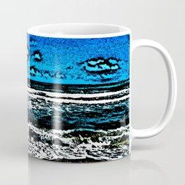 Ocean, Sky, Beach, and Sand Coffee Mug