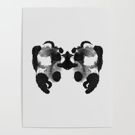 Form Ink Blot No. 20 Poster