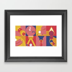 BBQ Framed Art Print