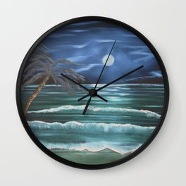 Bahama Blue Wall Clock
