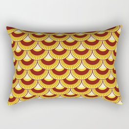 Koi Nobori Himawari Rectangular Pillow