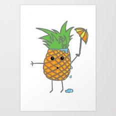 Sweaty Pine Art Print