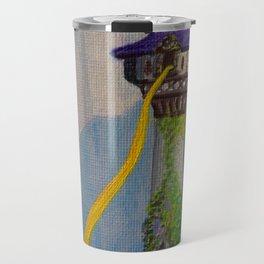 Rapunzel's Tower Travel Mug