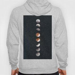Phases of the Moon II Hoody