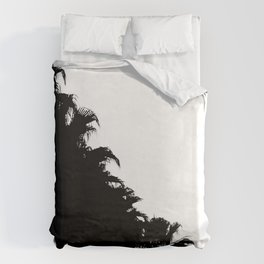 Palm tree Line up! Duvet Cover