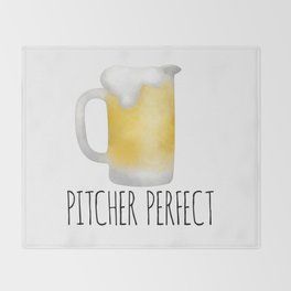 Pitcher Perfect Throw Blanket