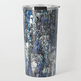 Abstract blue 2 Travel Mug