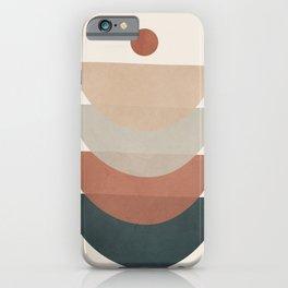Minimal Shapes No.32 iPhone Case