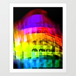 Mamas Don't Let Your Babies Grow Up to Be Rainbows Art Print