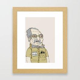 Hustlin' Framed Art Print