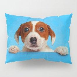 Cute Jack Russell Terrier Puppy Pillow Sham
