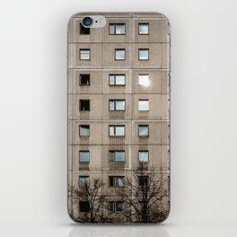 Plattenbau - gdr architecture building facade iPhone Skin