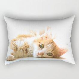 Tippy cat Rectangular Pillow