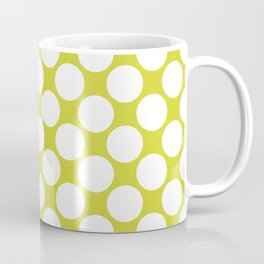 Polka Dots Green Coffee Mug