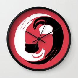 Kityin kityang Wall Clock