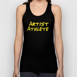 Artist Athlete Unisex Tank Top