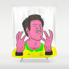 Table Tennis Mad Part 2 Shower Curtain