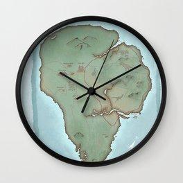 Isla Nublar Wall Clock