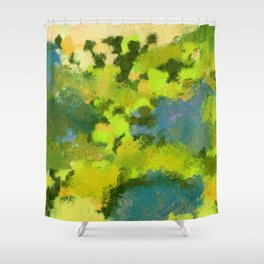 Haste and Breakup Shower Curtain